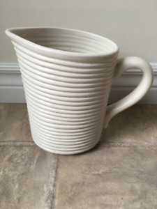 Everyday Style Ceramic Pitcher
