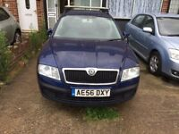 SKODA OCTAVIA 2.0 FSI AMBIENTE ONE OWNER MOT UNTIL 22 MAY 2018 FULL SERVICE HISTORY