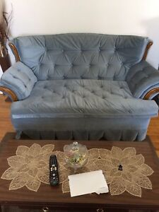 Sold......Matching Love seat and chair