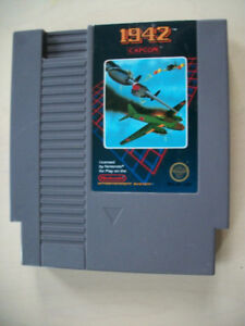 NINTENDO NES * 1942 * LODE RUNNER * FIFHER PRICE PERFECT FIT **
