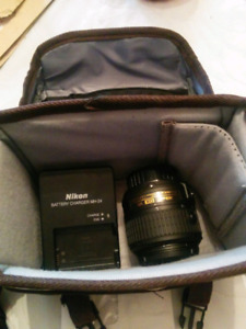 Nikon dx vr 18-55mm 3.5-5.6G II and extras
