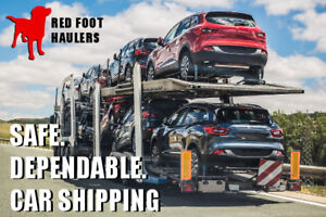 Red Deer Car Shipping *Booking Now* Call 1-800-351-7009
