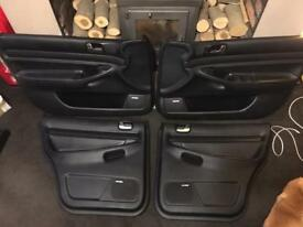 Audi S4 b5 Leather Door cards with Bose Speaker covers