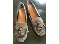 Grey NEWLOOK loafers. Never worn. Size 7.