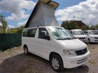 MAZDA BONGO LIFTING TOP, 1999, 2.0 LITRE, AUTOMATIC, 77,629 MILES IN WHITE