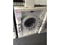 Intergrated 7kg 1600 spin washing machine. 12 month gtee