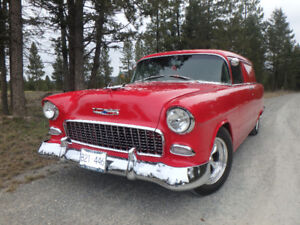 LOOK! $39,900.00 PRO-BUILT! 55 CHEV! Drive anywhere!