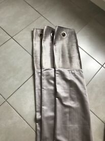 Pair of Dove Grey Curtains