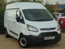 2015 Ford Transit Custom 2.2 TDCi 100ps L2 H2 Base Van 3 door Panel Van