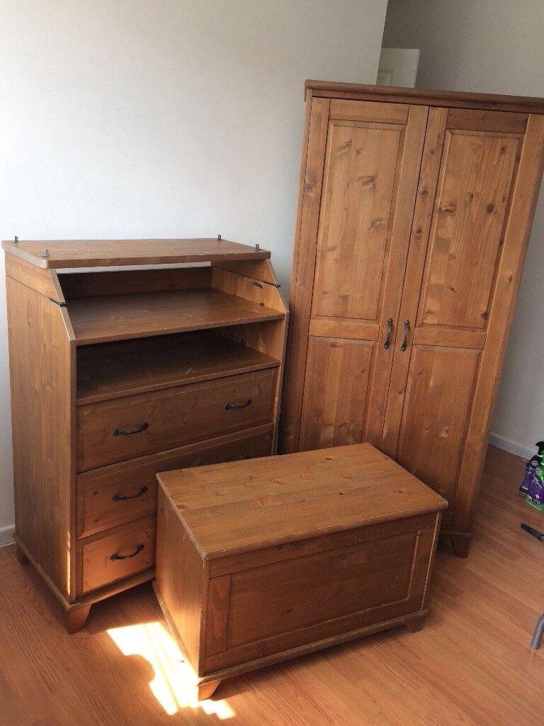 ikea children 39 s nursery furniture wardrobe changing table. Black Bedroom Furniture Sets. Home Design Ideas