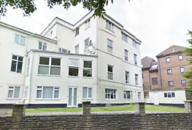 One bed maisonette flat in Bournemouth centre, allocated parking, furnished, recently decorated