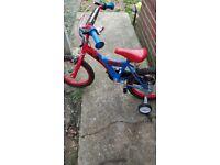 spiderman bicycle