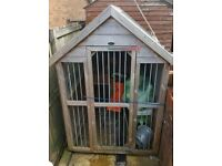 6x4ft dog kennel
