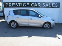 RENAULT SCENIC 1.5 DYNAMIQUE TOMTOM ENERGY DCI S/S 5d 110 BHP (silver) 2014