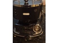 De Longhi icona eco310 coffee machine. Excellent condition, as hardly used. Instructions included