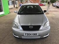 2004 Toyota Corolla 1.4 VVT-i T3 - 1 F Keeper - 8 Service Stamps by TOYOTA
