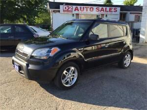 2010 Kia Soul 1 Owner/Automatic/Gas Saver/Roomy/Certified