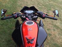 Kawasaki z800 burnt orange colour