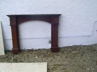 Fire Place Wooden Surround