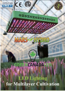 Full Spectrum Certified LED Indoor Grow Lights - Free Shipping