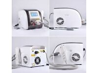 Portable 1064nm 532nm q switched beauty equipment laser tattoo removal