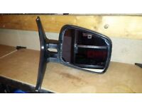 Volkswagen Transporter T4 drivers side mirror complete