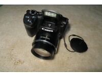 CANON POWERSHOT SX500 IS 16MP 30 X OPTICAL ZOOM 3IN LCD SCREEN BRIDGE CAMERA IMAGE STABILISATION