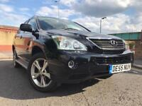 LEXUS RX400 HYBRID AUTOMATIC WITH ONLY 78K MILLAGE FULL LEXUS SERVICE HISTORY SIDE STEPS AS WELL