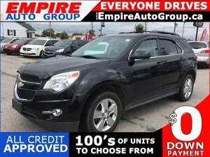 2013 CHEVROLET EQUINOX LT * LEATHER * NAV * REAR CAM * SUNROOF *