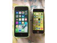 iPhone 5c 02 / Giffgaff Green Very good condition