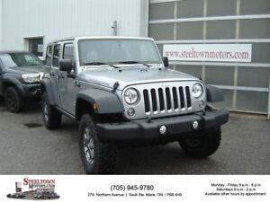 2015 Jeep WRANGLER UNLIMITED Rubicon|H/Leather|2 Tops|Navigation