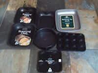 Cooking / baking pans - new - lot of 7 items