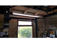 Power Rack, Deadlift Platform and Utility Bench