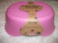 BRAND NEW BECOSTEP - ECO STEP STOOL - BIODEGRADABLE - PINK