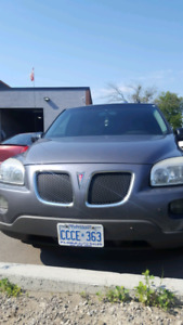 Pontiac montana sv6 2007 for sale at amazing price