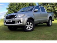 TOYOTA HILUX DOUBLE CAB PICK UP 2.5 D 4D 4WD 144PS NO VAT! CHEAP READ THE ADD