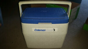 Large Coleman cooler only $10 text 226-448-9639