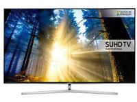 Samsung UE55KS8000 SUHD 55inch HDR 4K TV - SMART QUANTUM DOT TV- EX DISPLAY