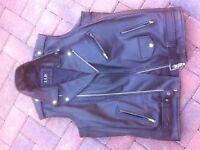 Harley Davidson Belt and Leather Jacket