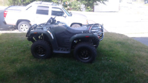 2014 Artic cat 400 4x4 (CALL ONLY)