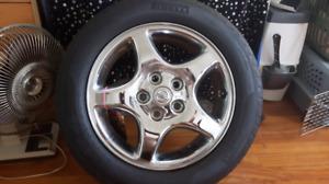 pneus monté sur mag