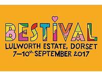 2 Camping Tickets + 1 Caravan Ticket for BESTIVAL, Dorset, 7-10 September