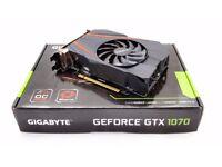 Gigabyte GerForce GTX 1070 Mini ITX (1 month old)