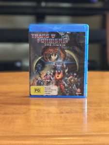 The Transformers: The Movie Blu-Ray