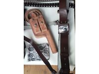 Mixed accessories belts,holster,mauser,goggles,tattoo sleeve