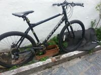 carrera subway disc hybrid 21 inch serviced lights mudguards great condition open to offers