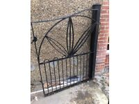 1930s iron gates