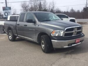 2012 RAM 1500 ST BLUETOOTH! CRUISE CONTROL! TOWING PACKAGE! A...