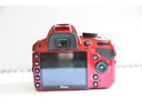 nikon d3200 dslr camera with bundle of accesories