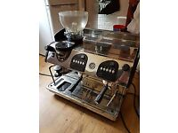 Markus Expobar ELEGANCE Control 2 GR Complete and Working Coffee Barista Machine Commercial Quality